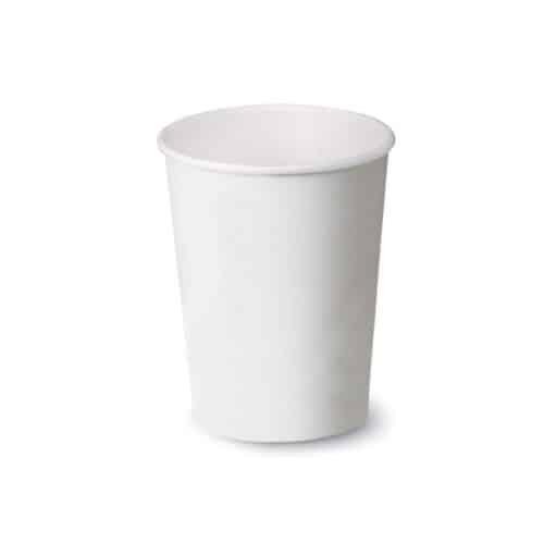 Bicchieri di carta bianchi e PLA 500 ml 100 pz