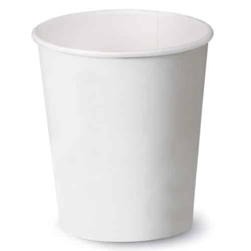 Bicchieri di carta bianchi e PLA 590 ml 100 pz