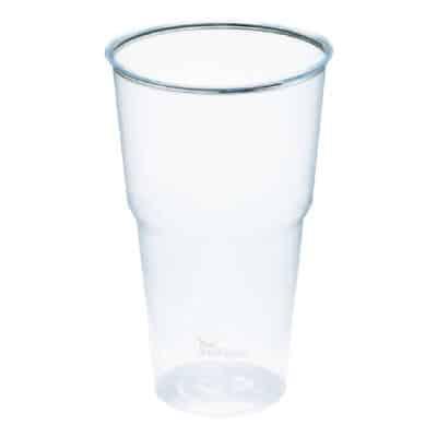 Bicchieri grandi in bioplastica 675 tacca 500 ml 120 pz