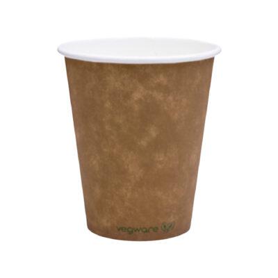 Bicchieri in carta Kraft e PLA 360 ml 100 pz