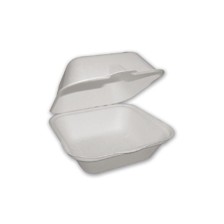 Contenitori da asporto con coperchio 450 ml 100 pz