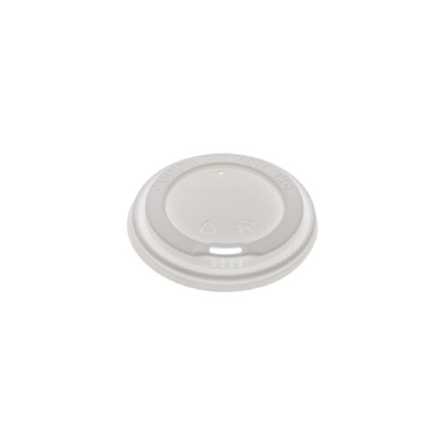 Coperchi in CPLA bicchieri da 180-350 ml 100 pz