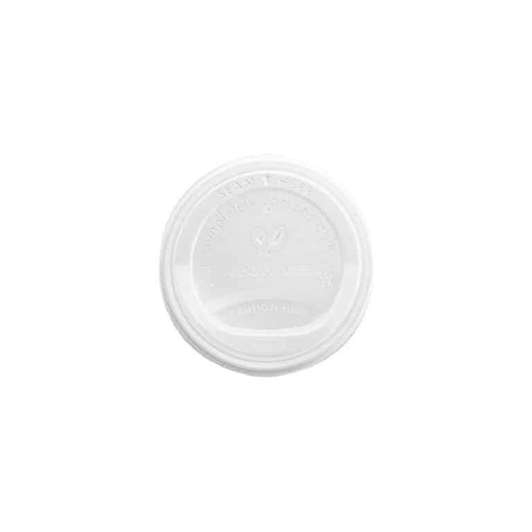 Coperchi in bioplastica bicchiere 240 ml, 100 pz