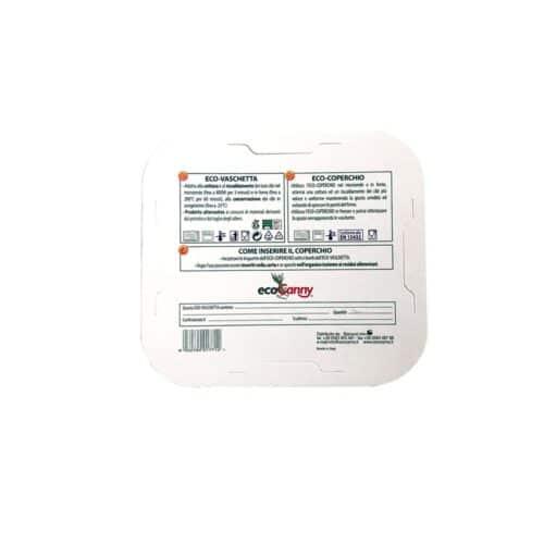 Coperchio in cartoncino per vaschetta 2-3 pz 100