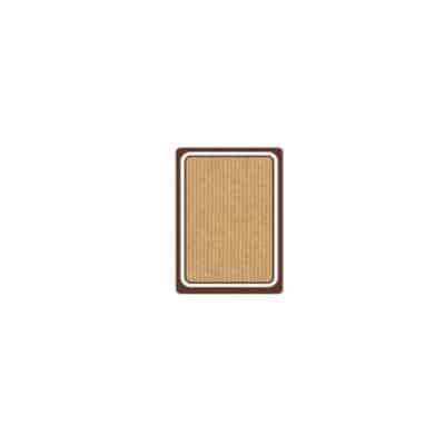 Etichette rettangolari in carta kraft 6,3x9 cm 900 pz