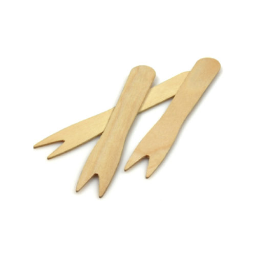 Forchettine in legno Natura in box 1000 pz