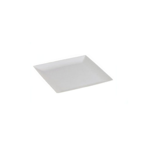 Piattini quadrati finger food in cellulosa e PLA 6,3x6,3 cm 300 pz