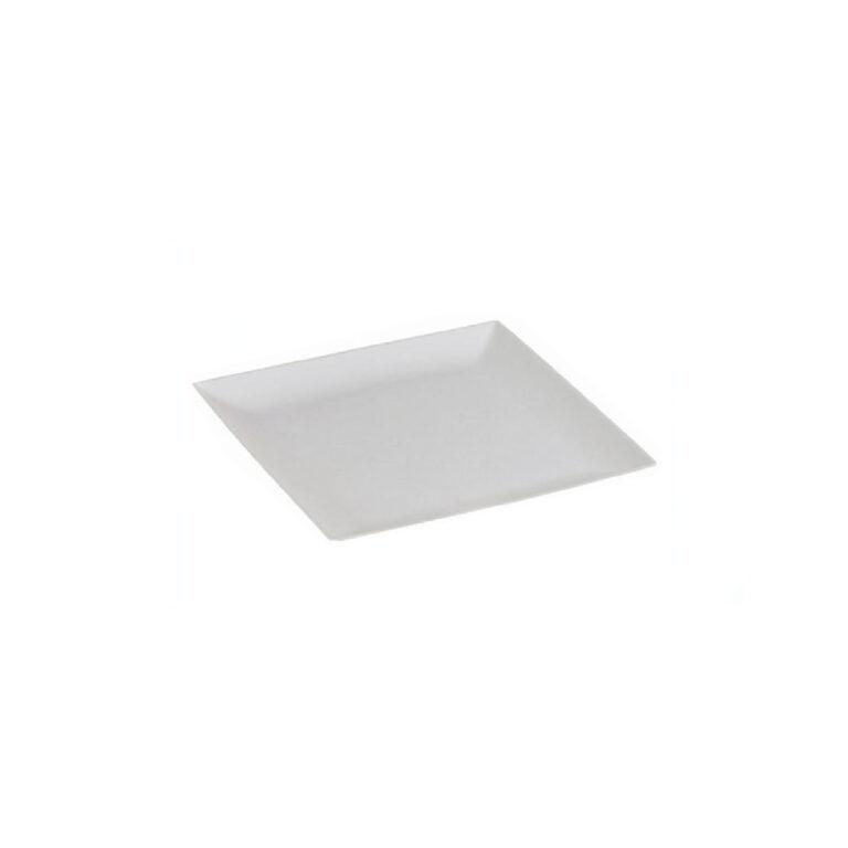Piattini quadrati finger food in cellulosa e PLA 6,3x6,3 cm 300 pz
