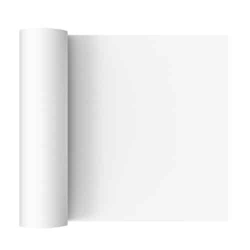 Rotolo tovaglia in carta bianca mt. 8x110 cm 6 pz