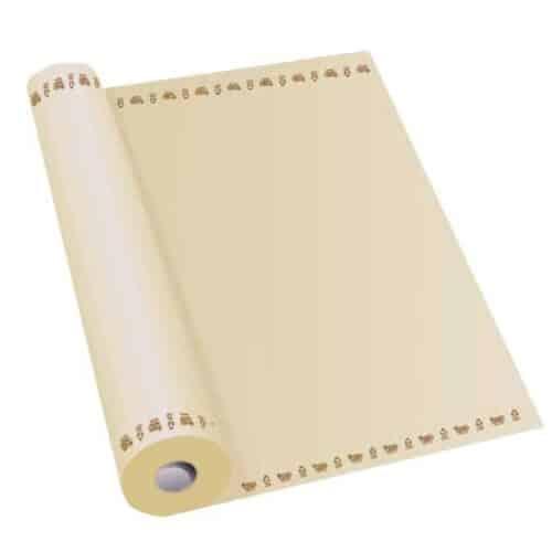 Rotolo tovaglia in carta riciclata avana 1x50 m. 1 pz