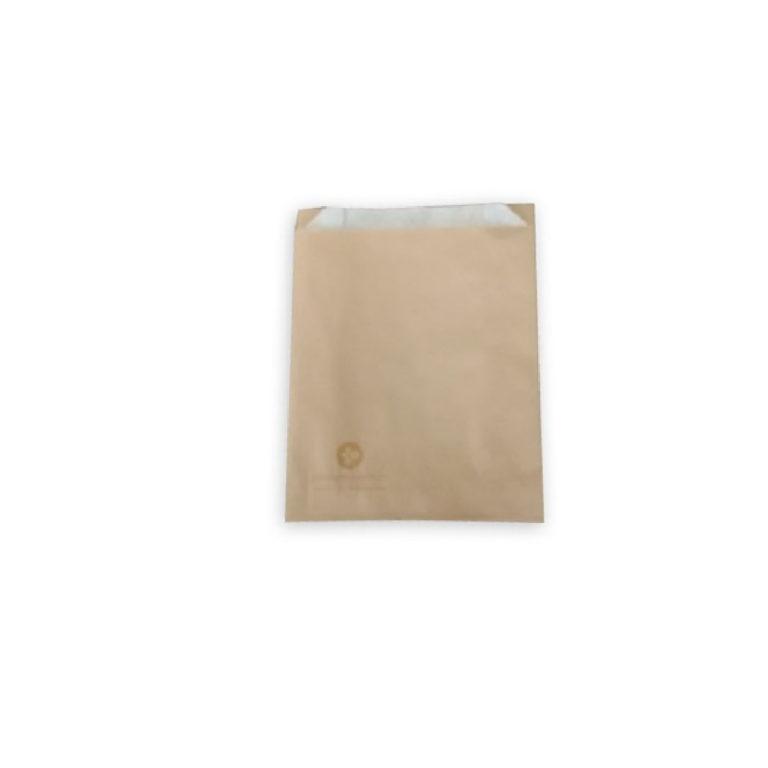 Sacchetti carta antiunto per fritti 12+6 x 16 cm 200 pz