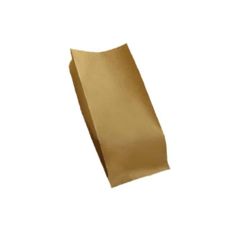 Sacchetti carta avana per alimenti Fsc 10 kg 14x28 cm