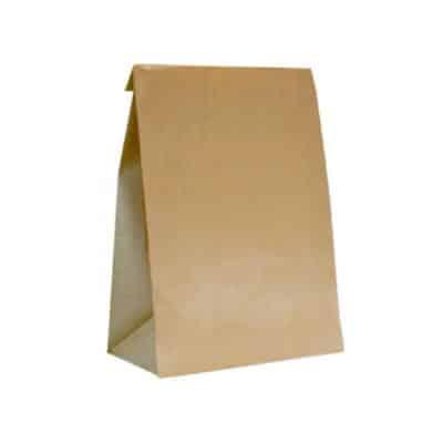 Sacchetto carta ecologica senza manici 500 pz