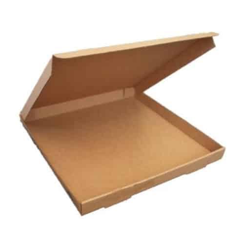 Scatole pizza natural avana 24x24cm 100 pz