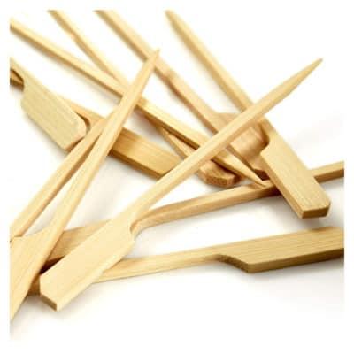 Stecchini in Legno bamboo Natura 9 cm 100 pz