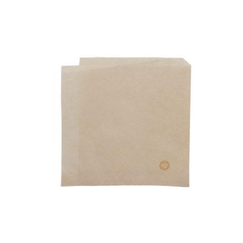 Tasche antiunto per fritti aperta su due lati 17x17 cm 200 pz