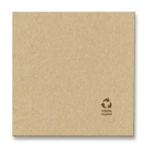 Tovagliolo in carta avana recicled 2 veli 40×40 cm 200 pz