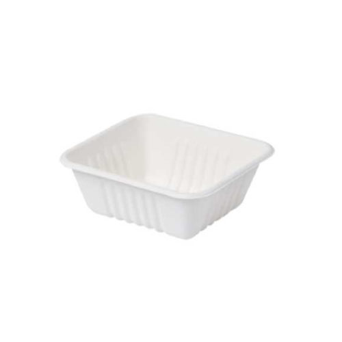 Vaschette per alimenti Bio 400 ml 100 pz