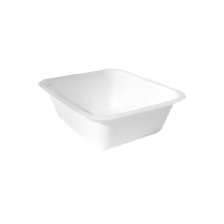 Vaschette per alimenti in canna da zucchero 2-3 pz 100 pz