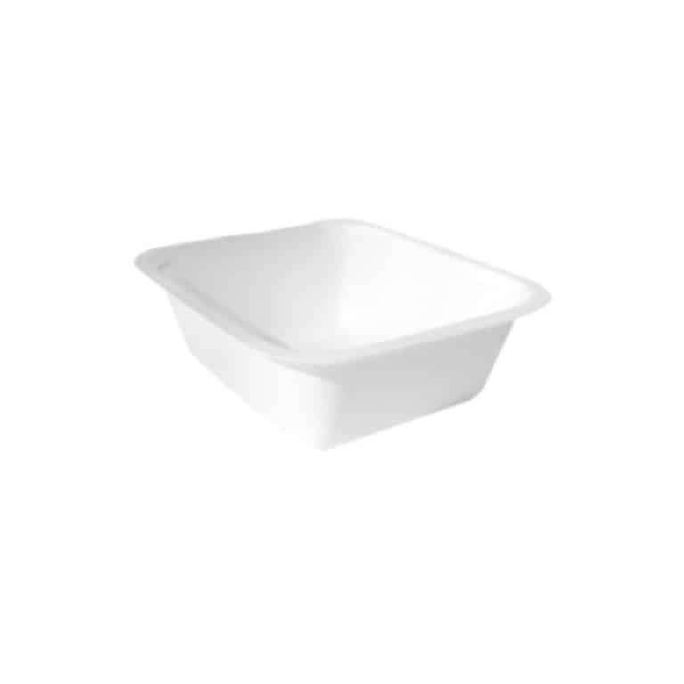 Vaschette per alimenti in canna da zucchero 5-6 pz 100 pz