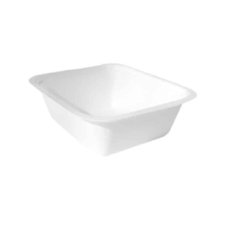 Vaschette per alimenti in canna da zucchero 7-8 porzioni 100 pz