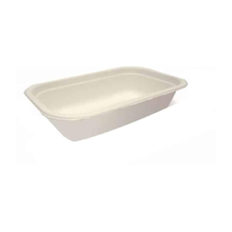 Vaschette per alimenti in cellulosa 650 ml 125 pz