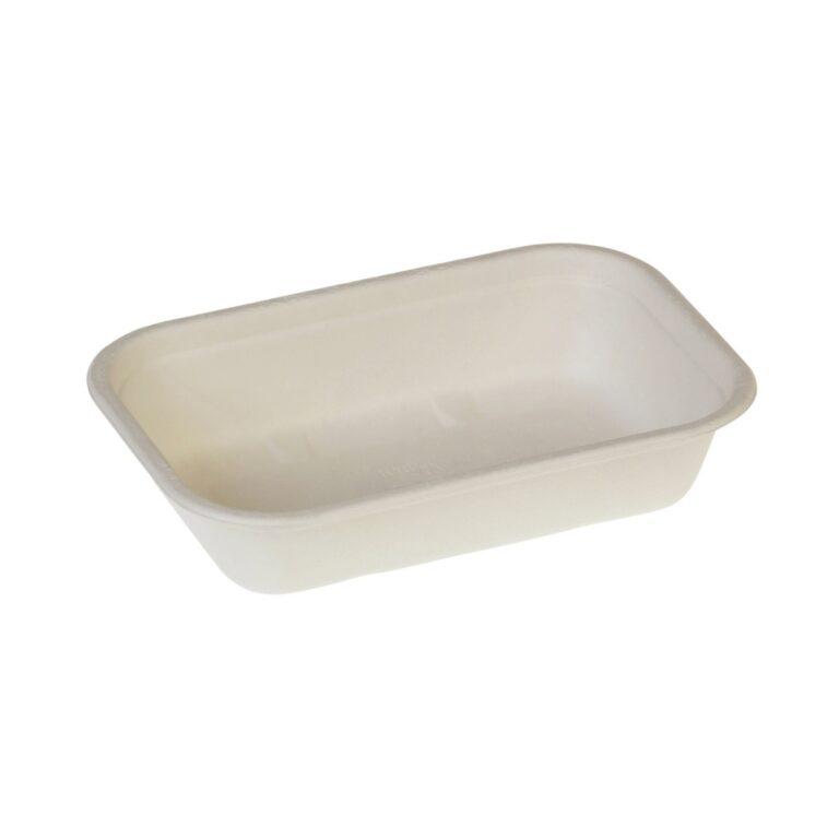 Vaschette per alimenti in cellulosa 850 ml 125 pz