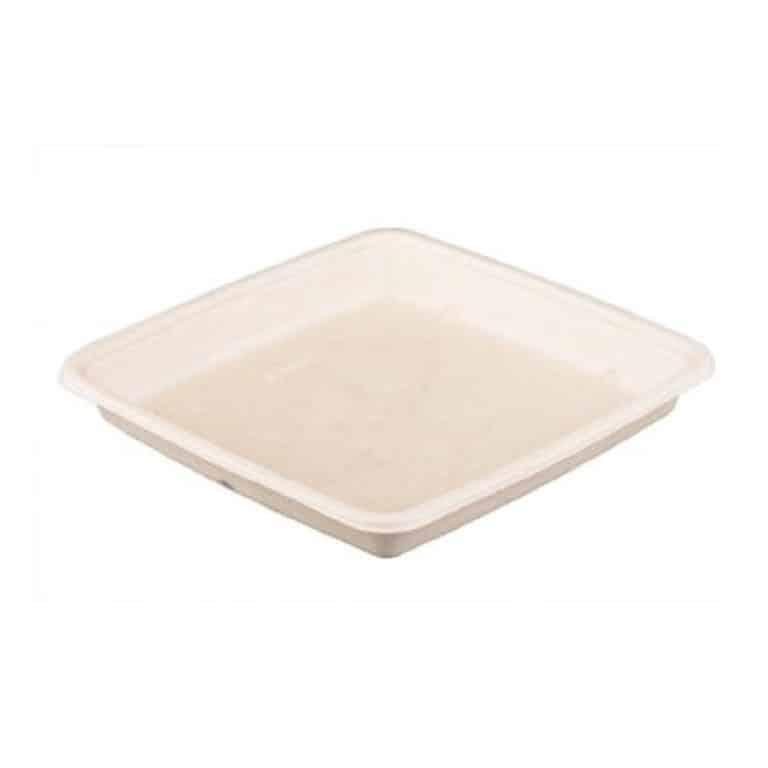 Vaschette quadrate con coperchio ml 1500 150 pz
