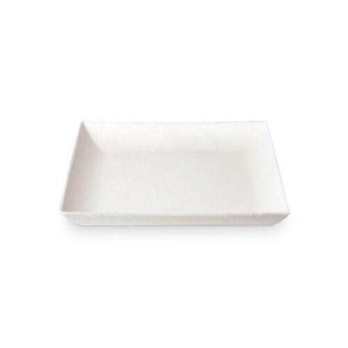 Vassoio sushi in canna da zucchero 26x32 cm 100 pz