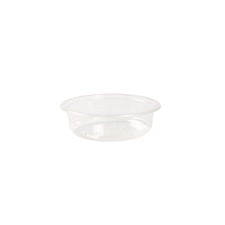 contenitori trasparenti compostabili 250 ml