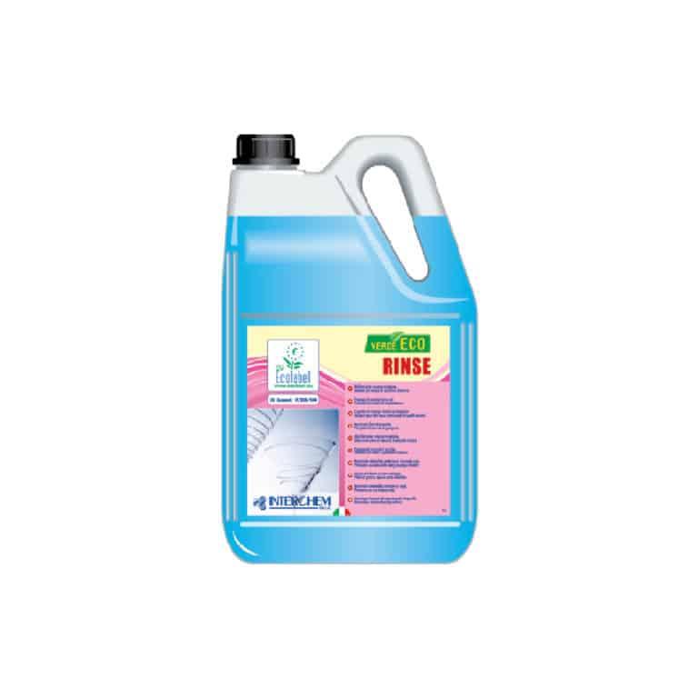Brillantante per lavastoviglie Ecolabel in tanica da 5 kg