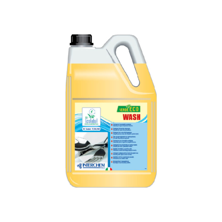 Detergente per lavastoviglie Ecolabel tanica da 6 lt