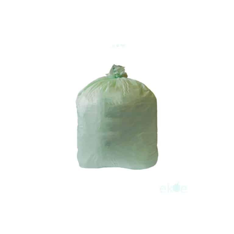 Sacchi immondizia compostabili 55x60 cm 500 pz