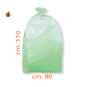 Sacchi rifiuti biodegradabili e bidoni