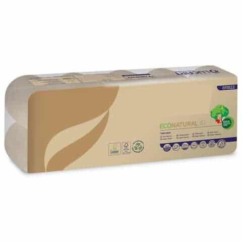 Carta igienica riciclata e biodegradabile avana