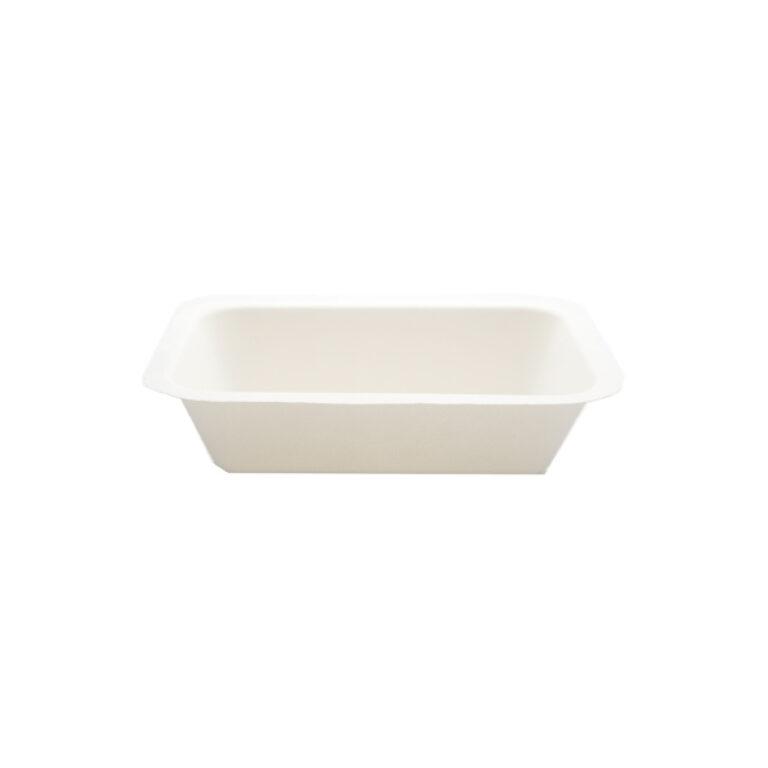 Vaschette per alimenti biodegradabili 450 ml 100 pz