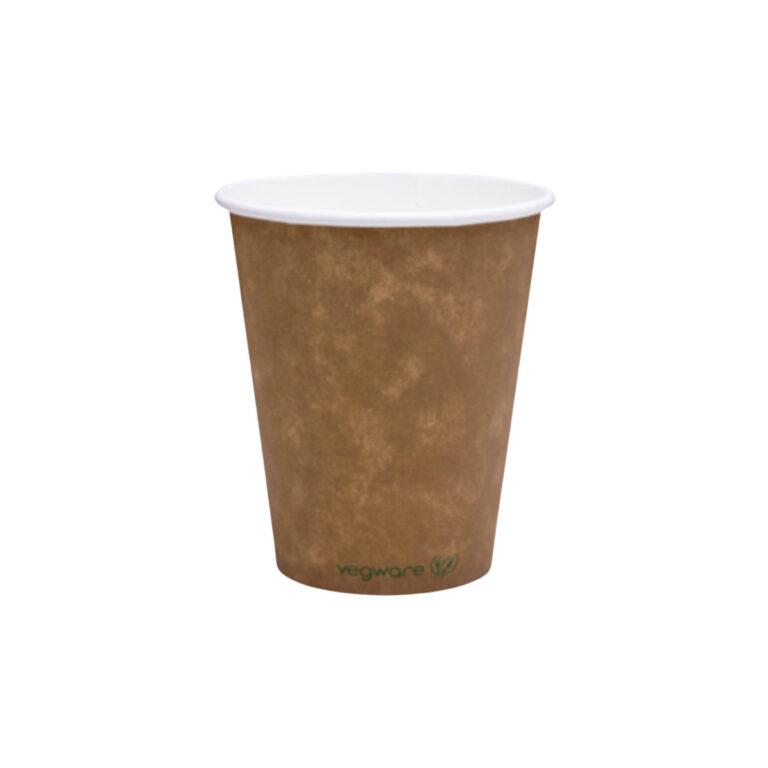 Bicchieri di carta Kraft e PLA 240 ml 100 pz