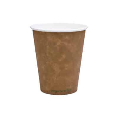 Bicchieri in carta Kraft e PLA 300 ml 100 pz