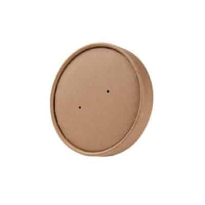 Coperchio ciotola in cartoncino kraft 400 ml 250 pz