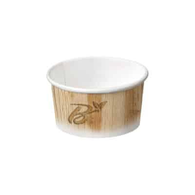 Coppette gelato in cartoncino e PLA da 230 ml 1290 pz
