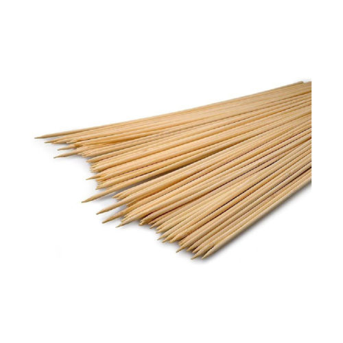 Spiedini in legno bamboo da 25 cm 100 pz