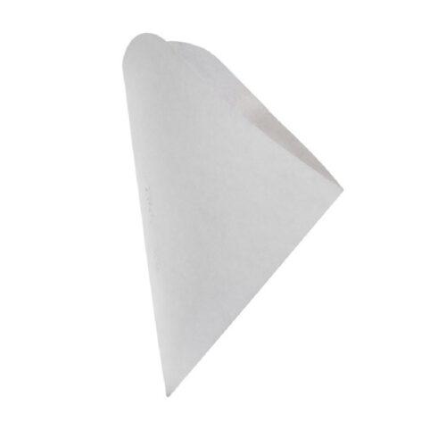 Coni street food in cartoncino bianco 250 pz