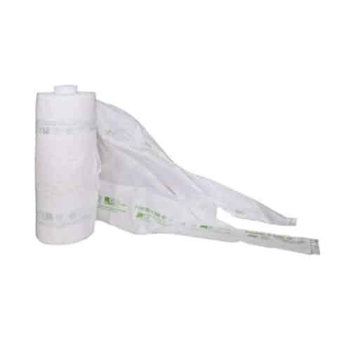 Sacchetti biodegradabili ortofrutta in rotolo 200 strappi 1rt