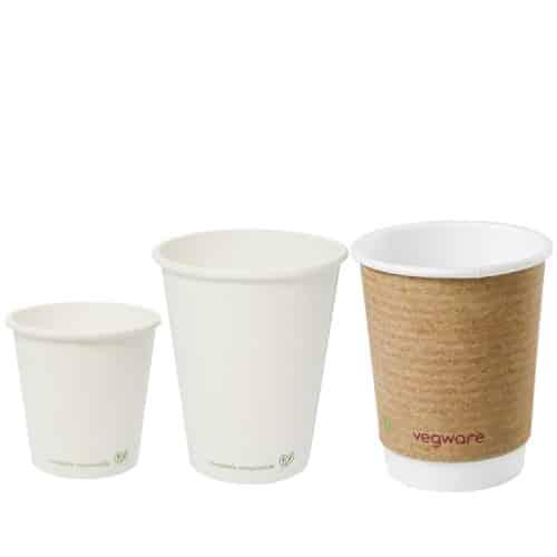 Bicchieri compostabili per bevande calde