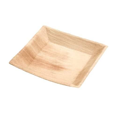 atti quadrati foglia in palma 17x17 cm 100 pz