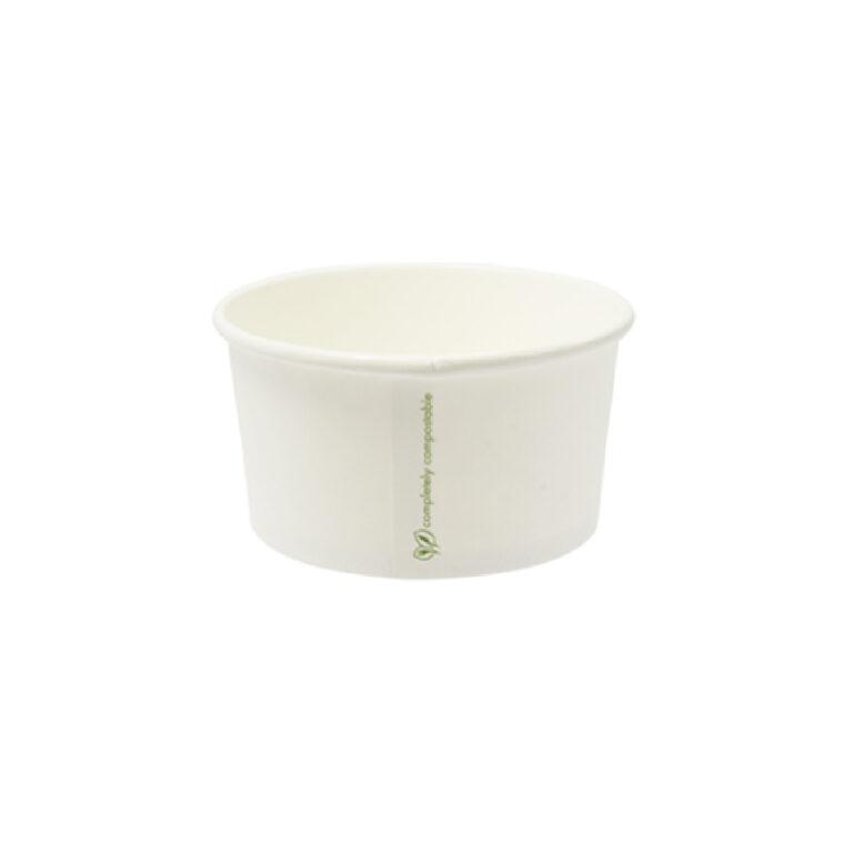 Ciotole per minestra Kraft e PLA ml 350 50 pz