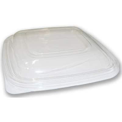 Coperchi quadrati in PLA per vaschette da 500 cc a 1800 cc 540 pz