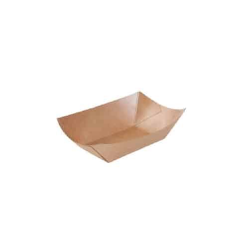 Piattini in cartoncino antiunto in PLA da 200 ml 500 pz