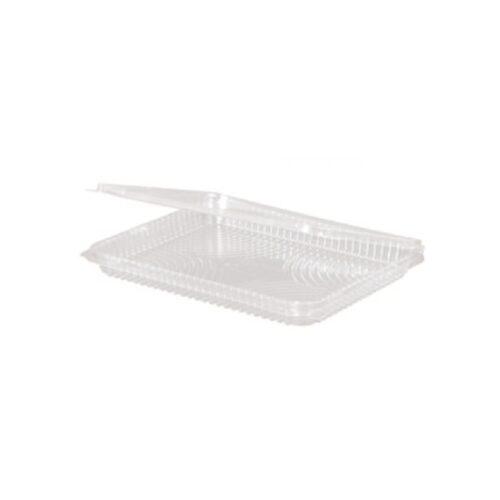 Vaschette slim con coperchio in PLA h 2 cm 350 pz