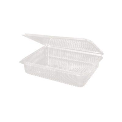 Vaschette slim con coperchio in PLA h 3,5 cm 300 pz